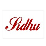 Sidhu name Postcards (Package of 8)