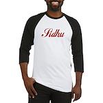 Sidhu name Baseball Jersey