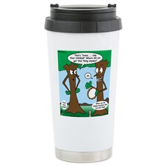 Trees Clapping? Stainless Steel Travel Mug