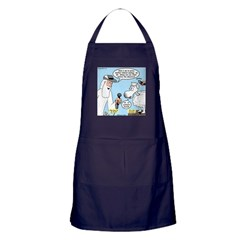 Silence of the Sheep Apron (dark)
