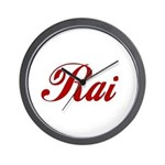 Rai name Wall Clock