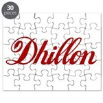 Dhillon name Puzzle