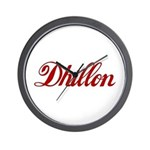 Dhillon name Wall Clock