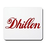 Dhillon name Mousepad