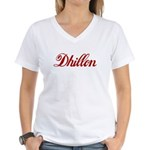 Dhillon name Women's V-Neck T-Shirt