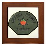 Orange County Sheriff SWAT Framed Tile