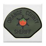 Orange County Sheriff SWAT Tile Coaster