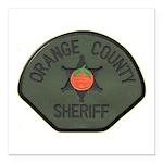 Orange County Sheriff SWAT Square Car Magnet 3