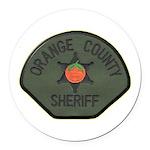 Orange County Sheriff SWAT Round Car Magnet