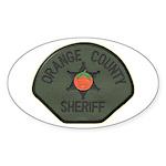 Orange County Sheriff SWAT Sticker (Oval 10 pk)