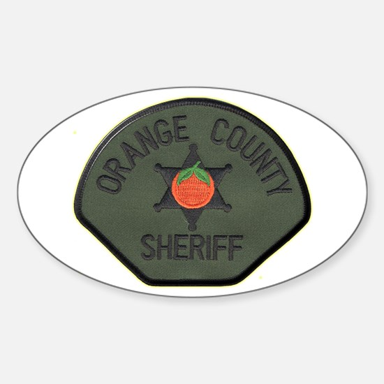 Orange County Sheriff SWAT Sticker (Oval)
