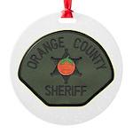 Orange County Sheriff SWAT Round Ornament