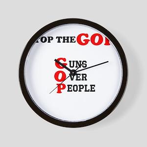 STOP THE GOP Wall Clock