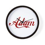 Adam name Wall Clock