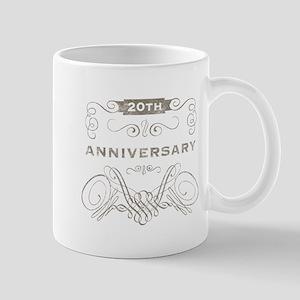 20th Vintage Anniversary Mug