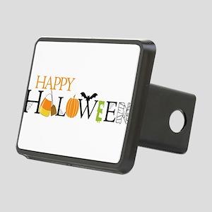 Happy Halloween Rectangular Hitch Cover