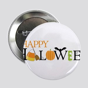 "Happy Halloween 2.25"" Button"