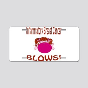 Inflammatory Breast Cancer Blows! Aluminum License