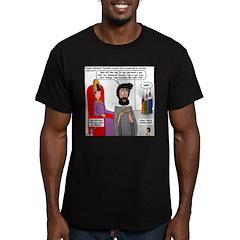 Joseph Vizier Men's Fitted T-Shirt (dark)