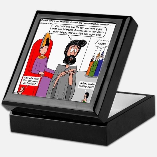 Joseph Vizier Keepsake Box
