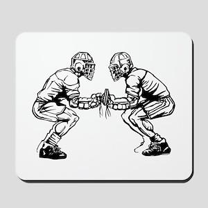 Lacrosse Faceoff Mousepad