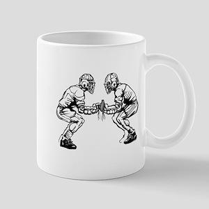 Lacrosse Faceoff Mug
