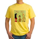 Abe's Lot in Life Yellow T-Shirt