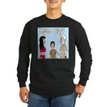 Abe's Lot in Life Long Sleeve Dark T-Shirt