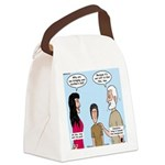 Abe's Lot in Life Canvas Lunch Bag