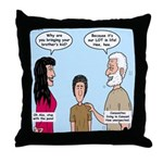 Abe's Lot in Life Throw Pillow