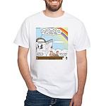 Rainbow: God's Sticky Note White T-Shirt