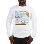 Rainbow: God's Sticky Note Long Sleeve T-Shirt