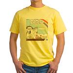 Rainbow: God's Sticky Note Yellow T-Shirt
