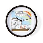 Rainbow: God's Sticky Note Wall Clock