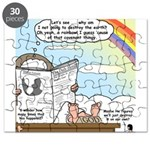 Rainbow: God's Sticky Note Puzzle