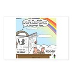 Rainbow: God's Sticky Note Postcards (Package of 8
