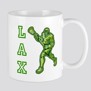 Green LAX Player Mug