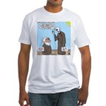 Ezekiel's Dry Bones Fitted T-Shirt