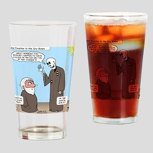 Ezekiel's Dry Bones Drinking Glass