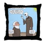 Ezekiel's Dry Bones Throw Pillow