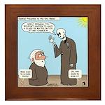 Ezekiel's Dry Bones Framed Tile