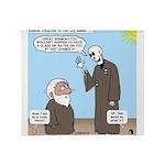 Ezekiel's Dry Bones Throw Blanket