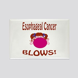 Esophageal Cancer Blows! Rectangle Magnet