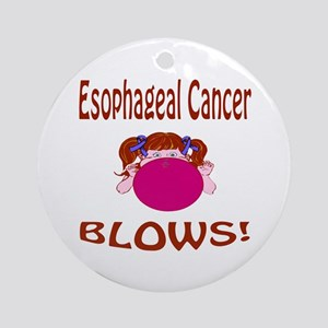 Esophageal Cancer Blows! Ornament (Round)