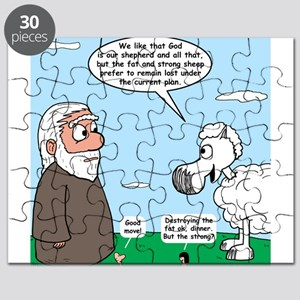 Fat Sheep Protest Puzzle