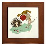 Can't Let Down Porcupine | Framed Tile