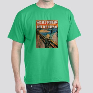We All Scream Dark T-Shirt