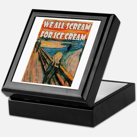 We All Scream Keepsake Box