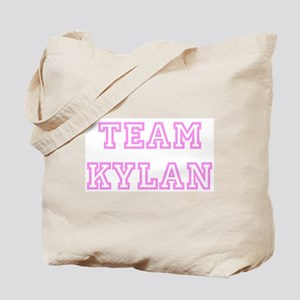 Pink team Kylan Tote Bag