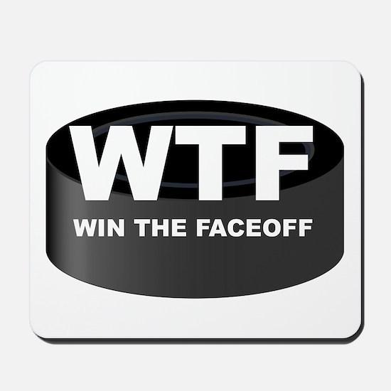 Win The Faceoff Mousepad
